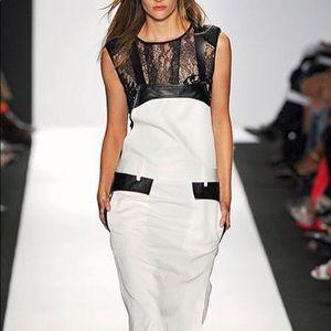 BCBG Max Azria runway overall dress